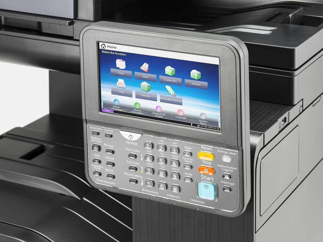 Печать gdi - стандарт для любых windows пк taskalfa 1801/2201 также поддерживают сетевую печать при установке